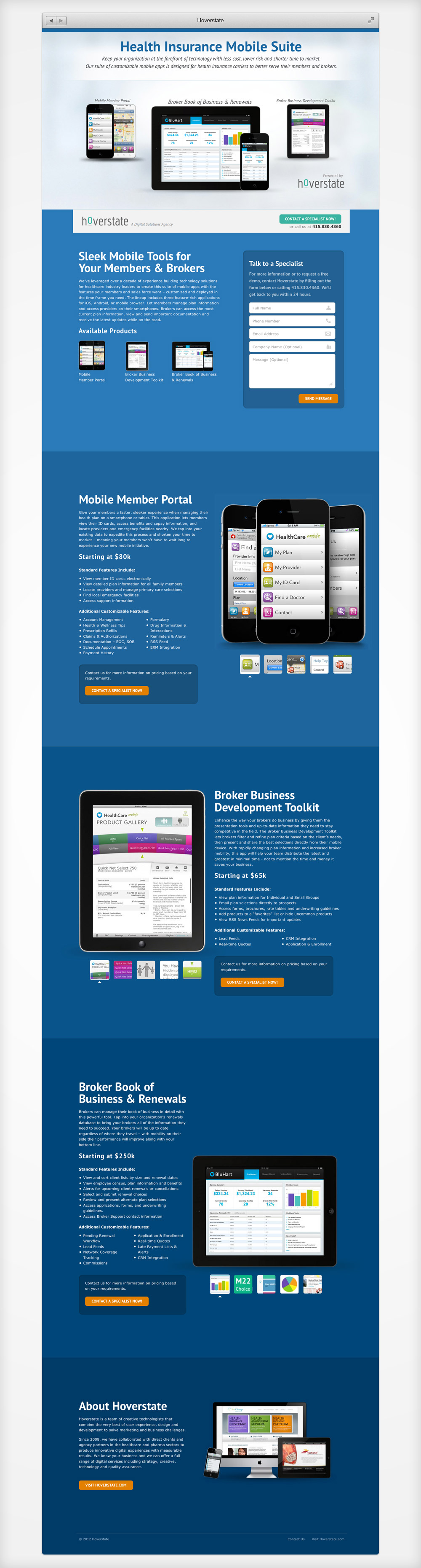 browser-healthcare-landing-page