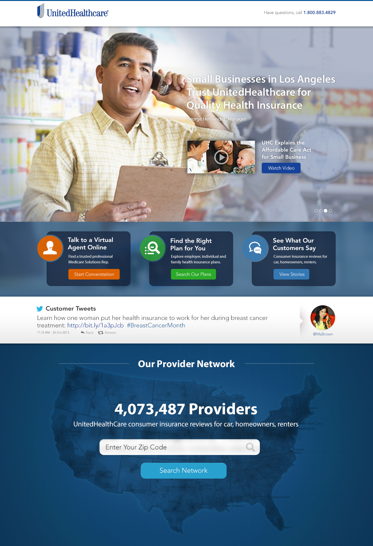 United Healthcare Website