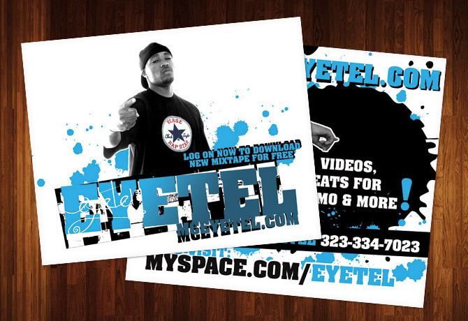 Eyetel Music Flyer