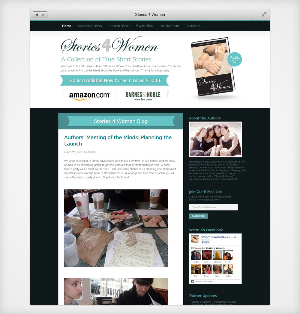 Stories 4 Women Website