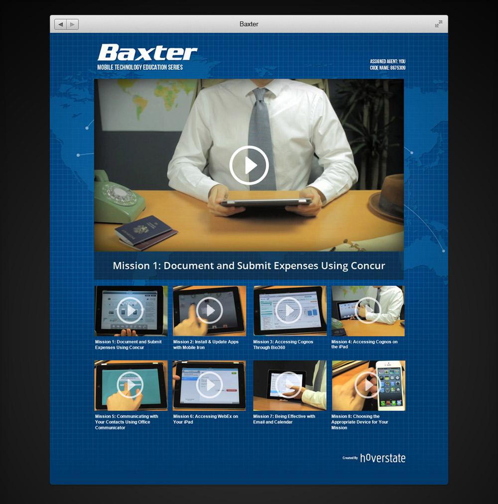 Baxter Landing Page