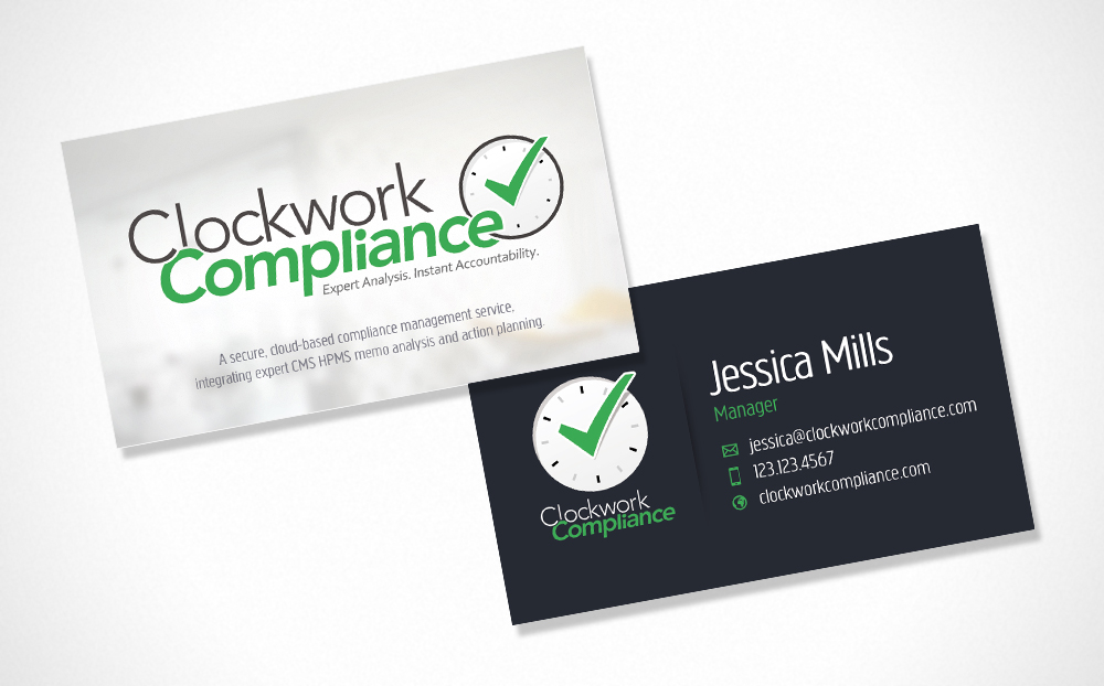 Clockwork Compliance Business Card