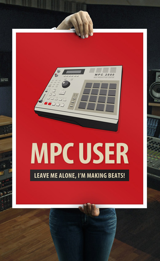 Hip Hop Maker Music Poster