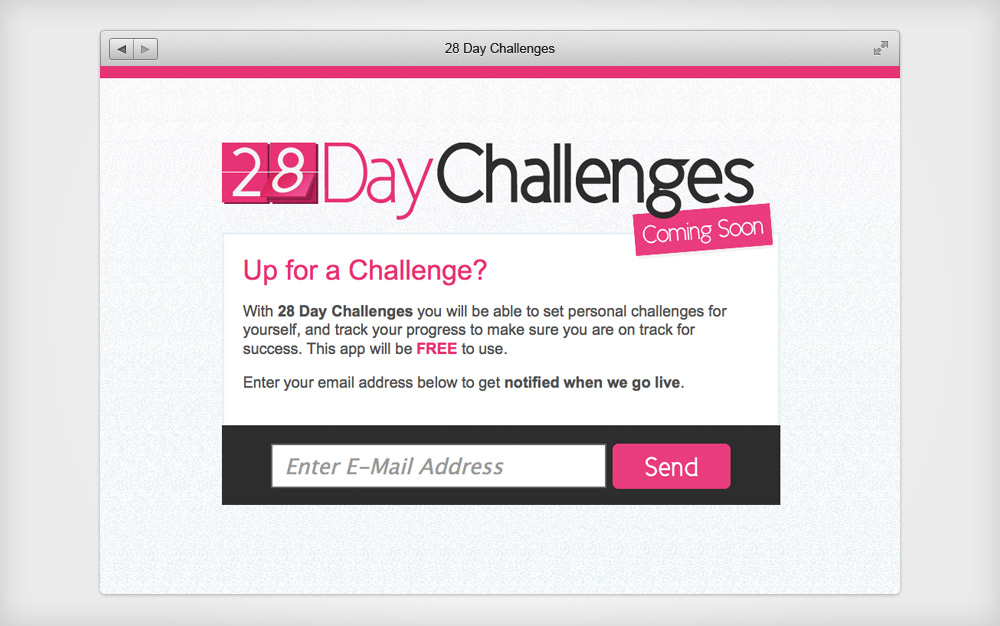 28 Day Challenges