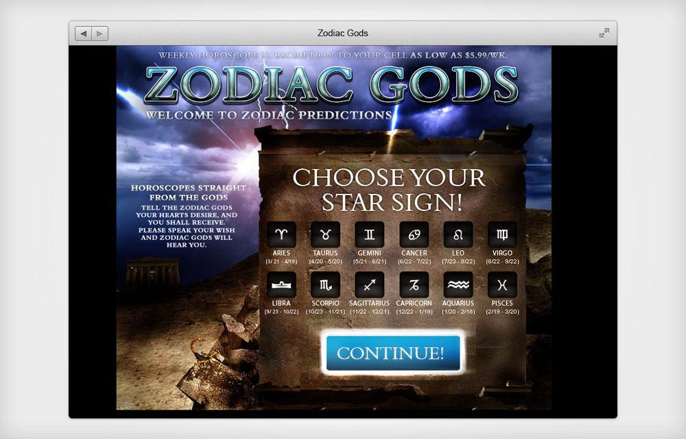 Zodiac Gods