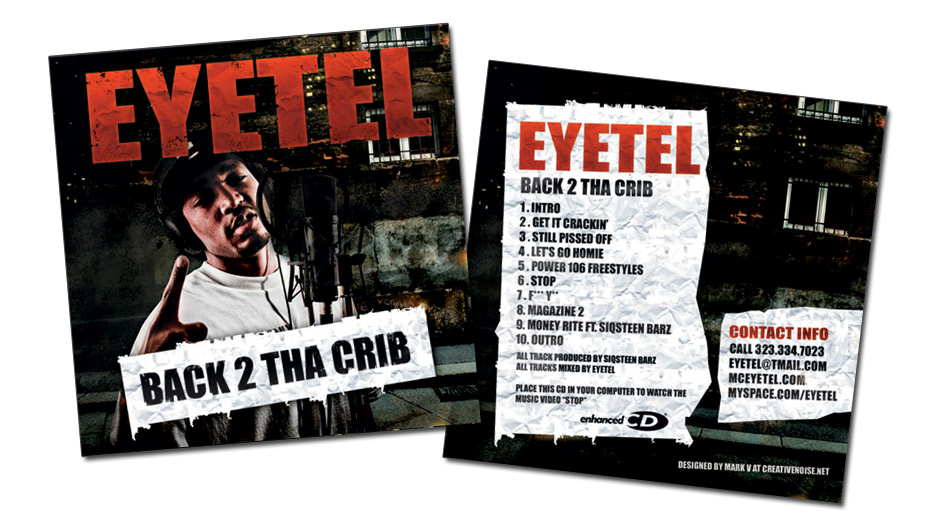 Eyetel CD Cover