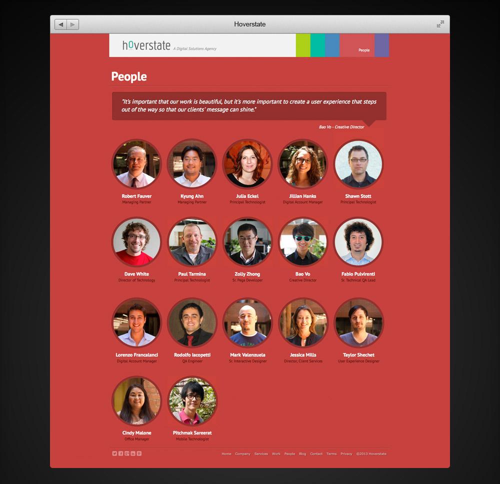 Hoverstate Website Team