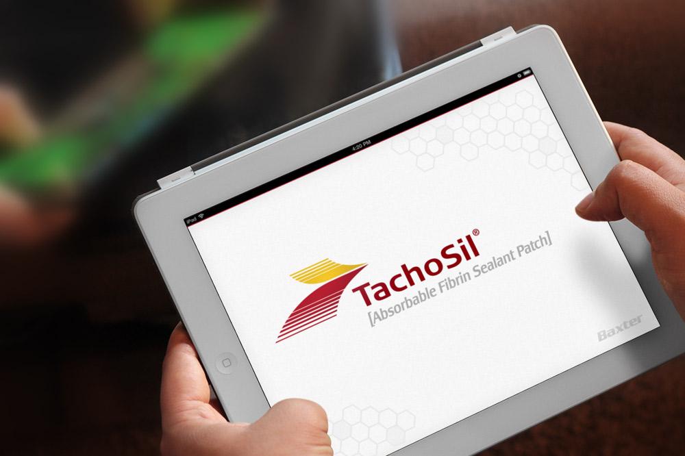 Baxter TachoSil iPad App