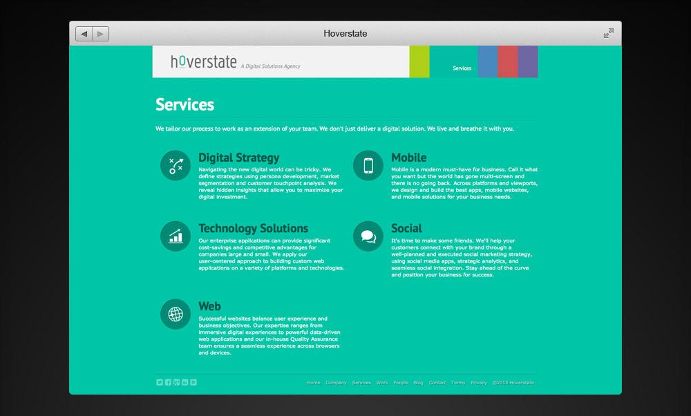 Hoverstate Website Services