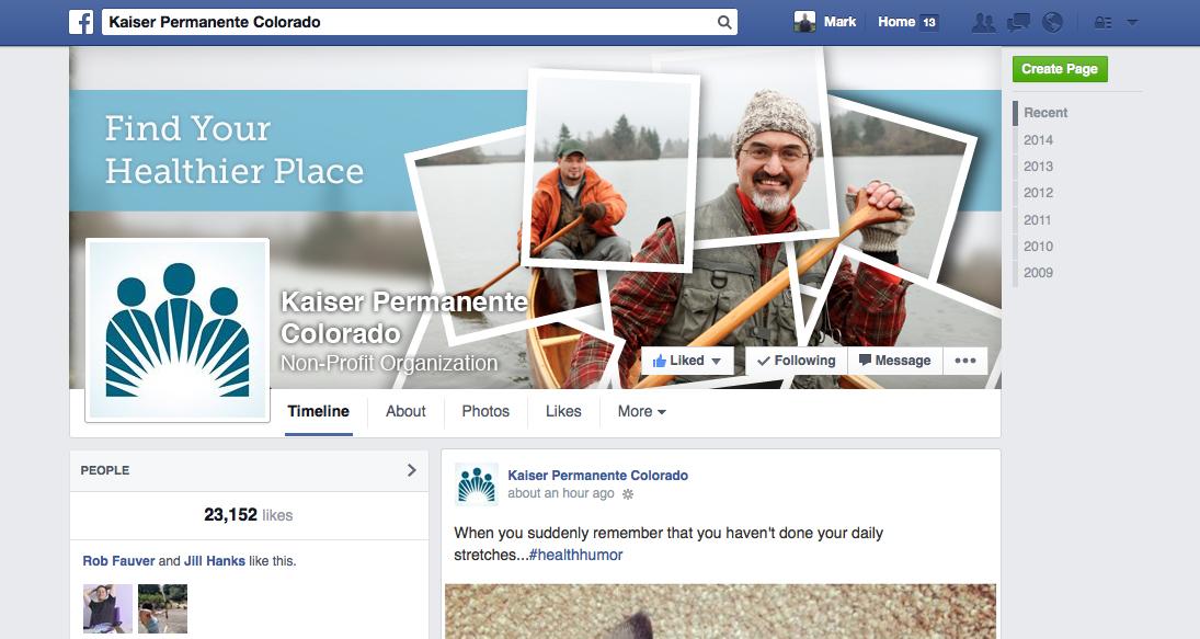 Kaiser Facebook Banner