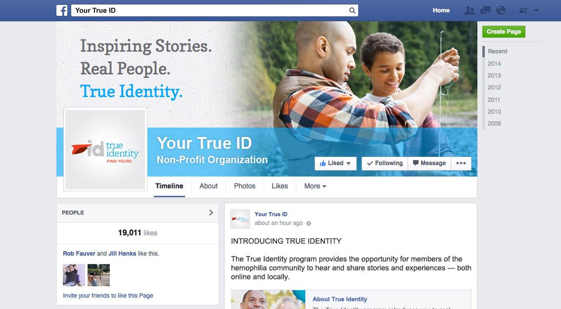 Your True ID Facebook Banner