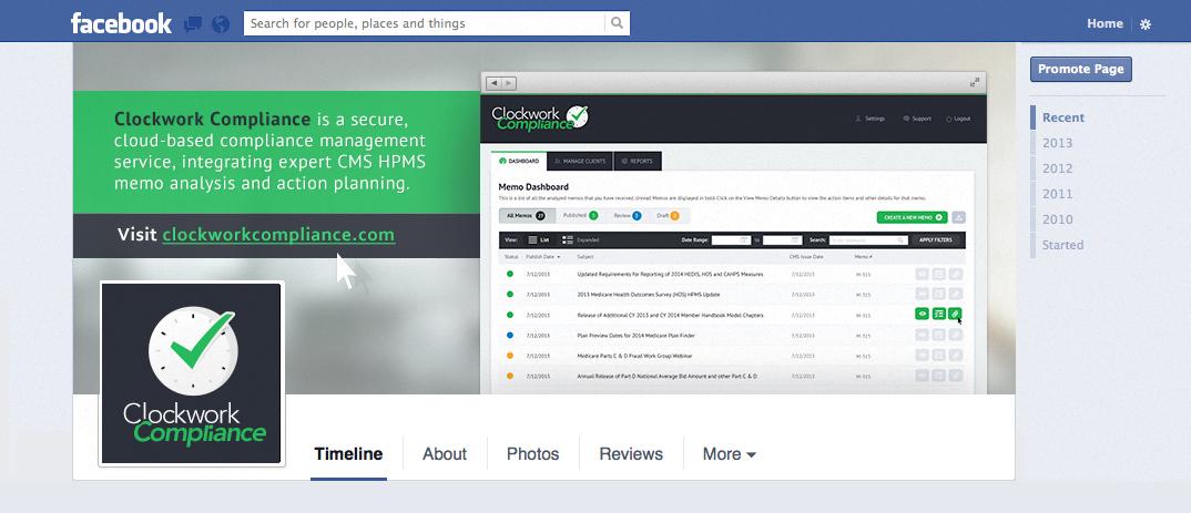Clockwork Compliance Facebook Banner