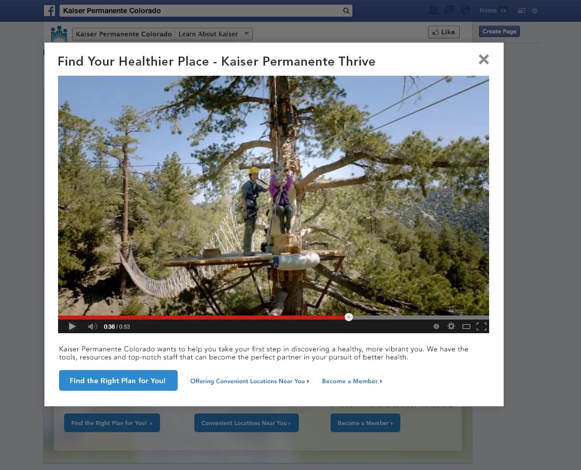 Kaiser Facebook Video Overlay